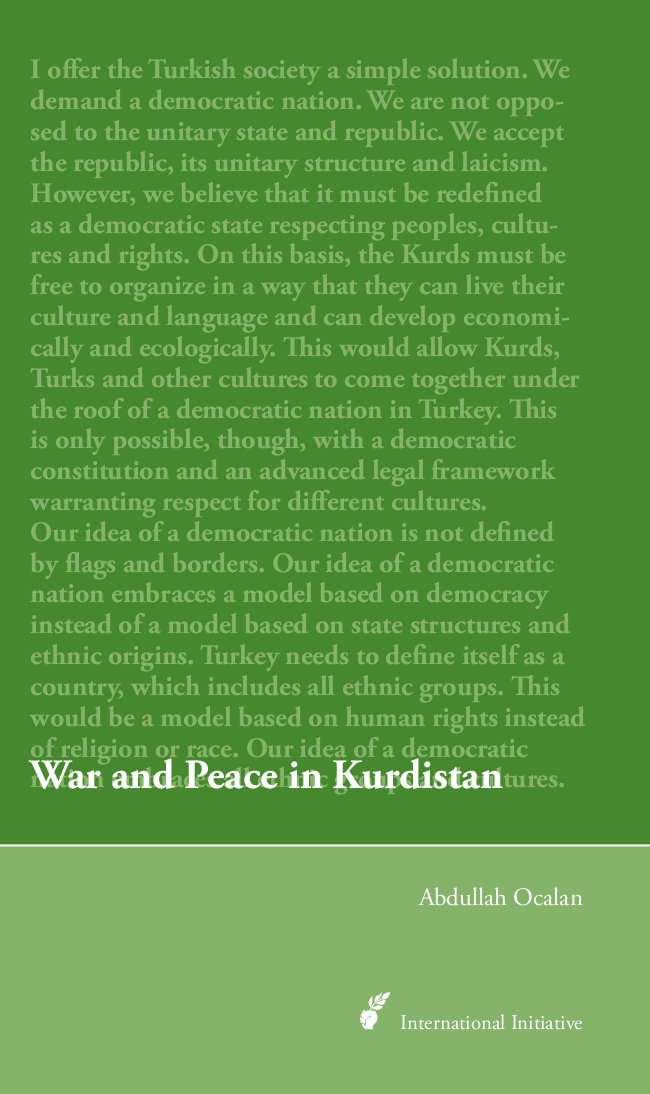 War and Peace in Kurdistan