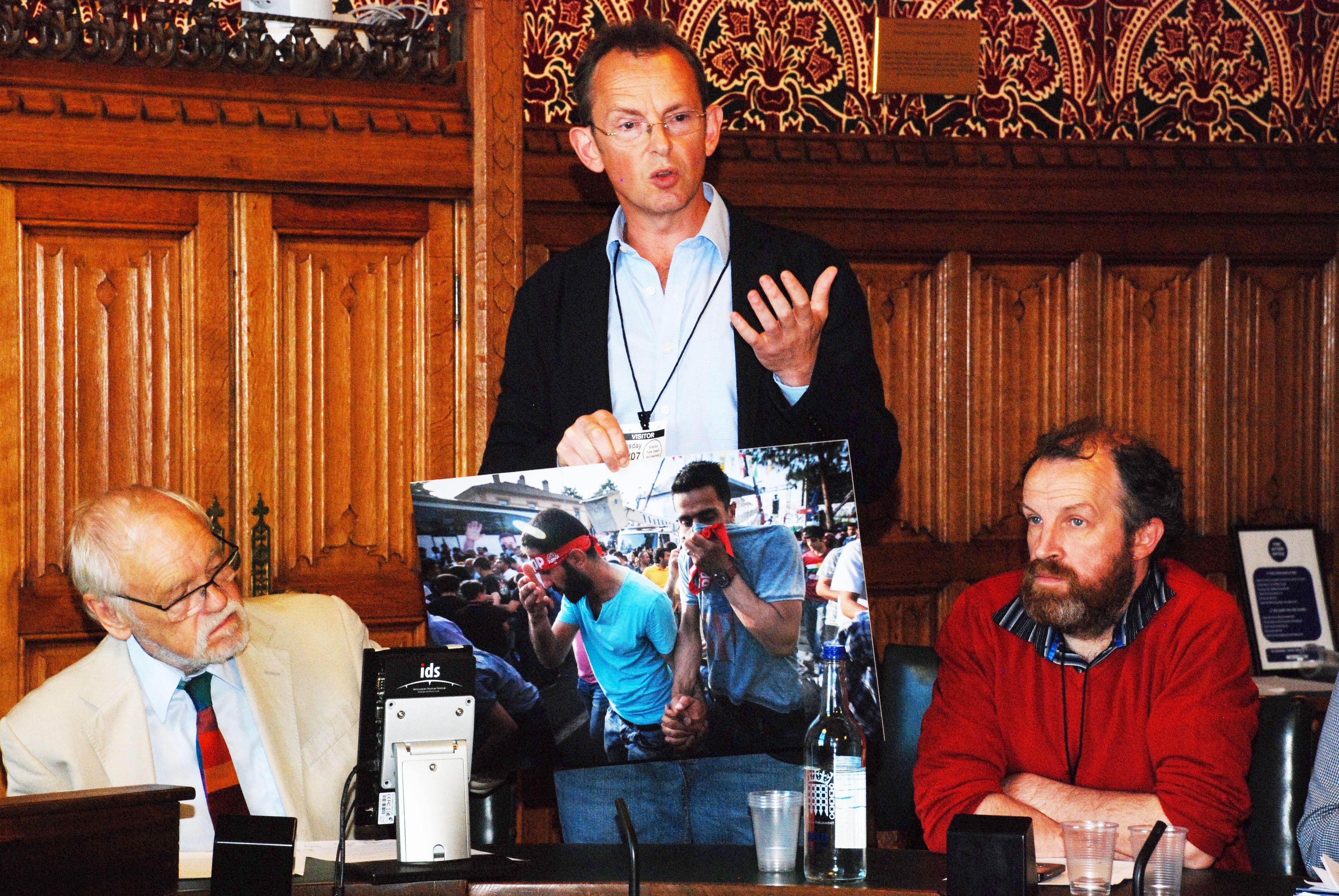 Sean Hawkey, photojournalist
